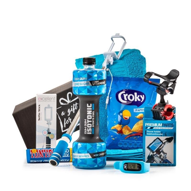 Kerstpakket Sportief Blauw