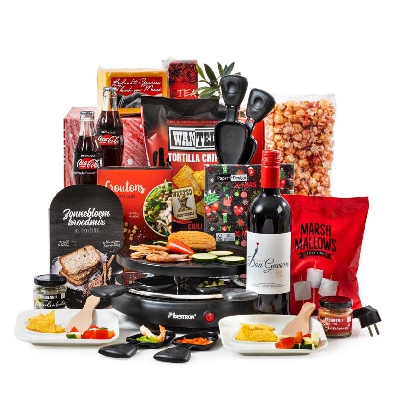 Kerstpakket Familie Raclette