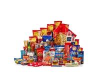 Kerstpakket Groot in Blauw & Rood