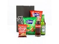 Cola, Bier en snacks