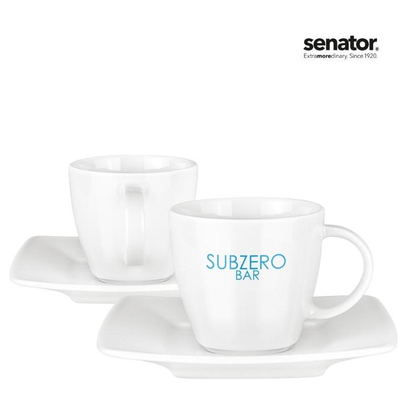 Maxim Espresso Duo porselein set 4-delig