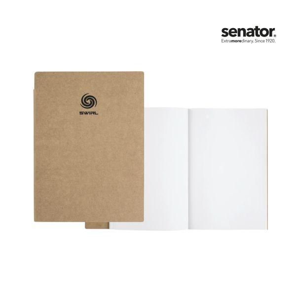 SENATOR Notitieboek DIN A5 met blanco FSC-papier.