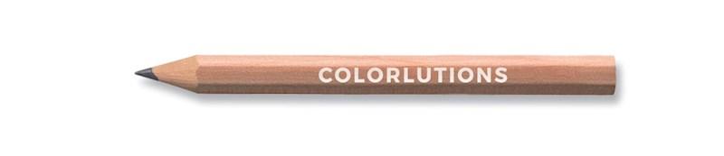 STAEDTLER kort potlood zeshoekig zonder lak, gecertificeerd hout