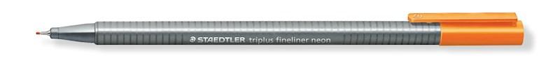 STAEDTLER triplus fineliner neon