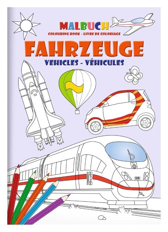 Kleurboek set DIN A4