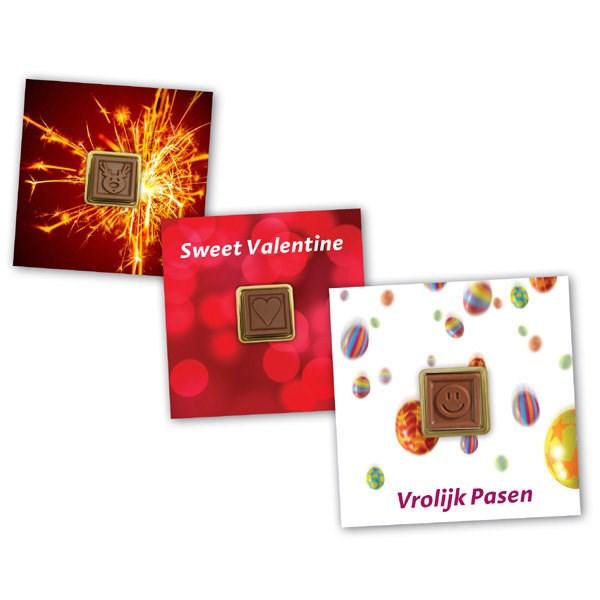 ChoCard Gift ChocoBlokje