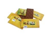 Chocolade reep met Paaswikkel