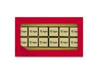 Giftbox met 12 logochocolaatjes