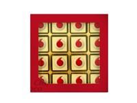 Giftbox met 16 logochocolaatjes