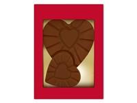 Chocolade symbool hart
