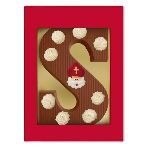 Decoratie chocoladeletter