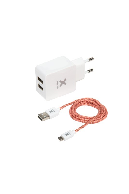 Xtorm Micro USB cable + AC Adapter