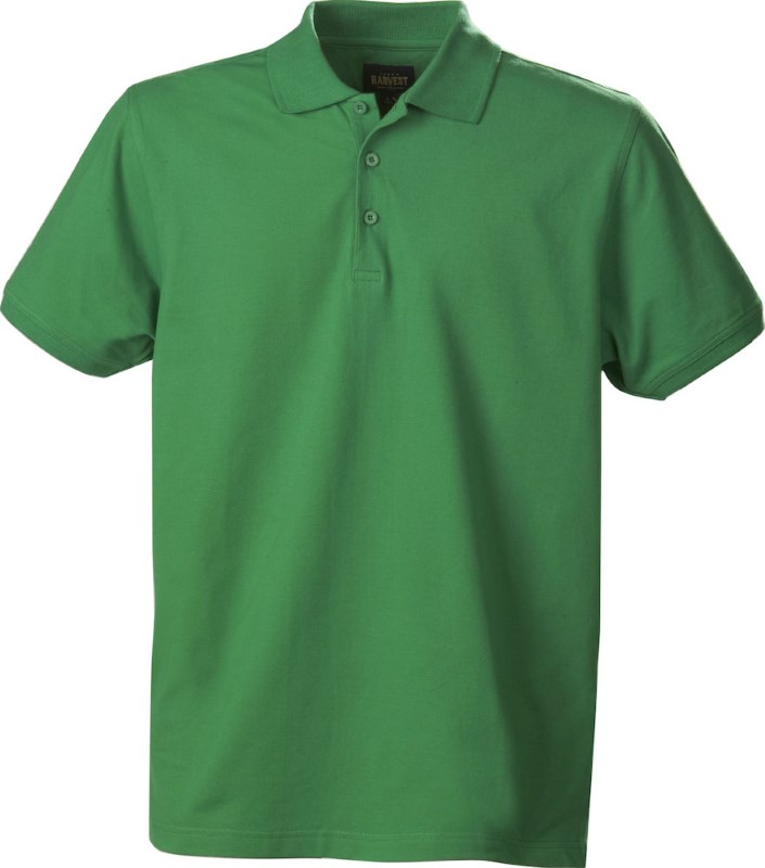 Harvest EAGLE polo men Spring Green XXXL