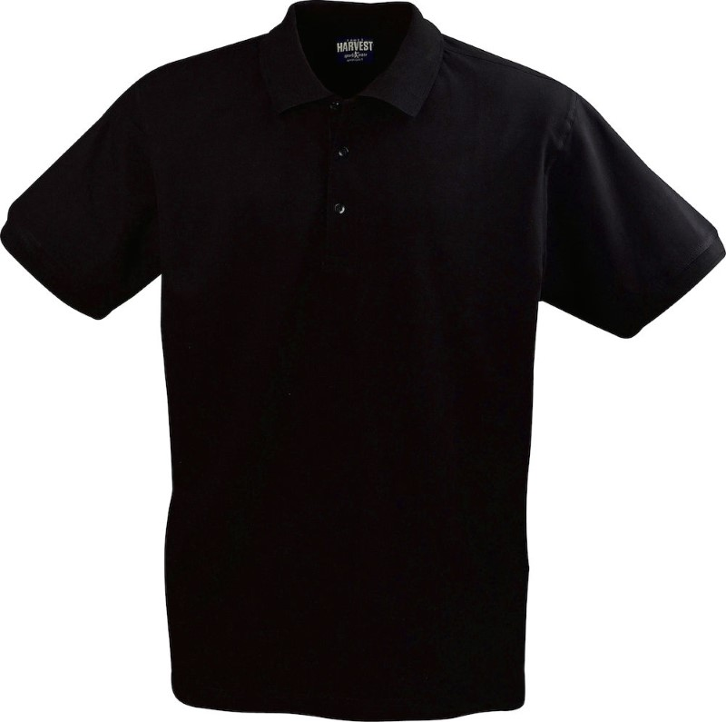 Harvest EAGLE polo men Black XXXL
