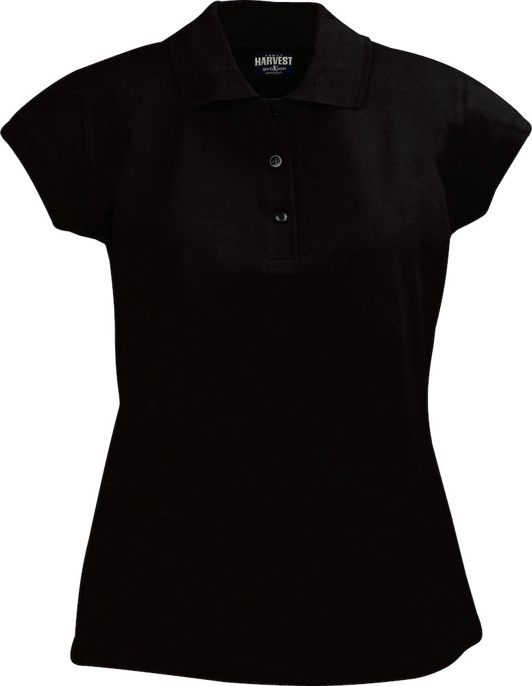 Harvest Birdie polo lady golf Black S