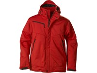 Printer Skeleton Softshell Jacket Red L
