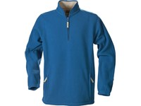 Printer Rally fleece 1/2 zip Petrol Blue L