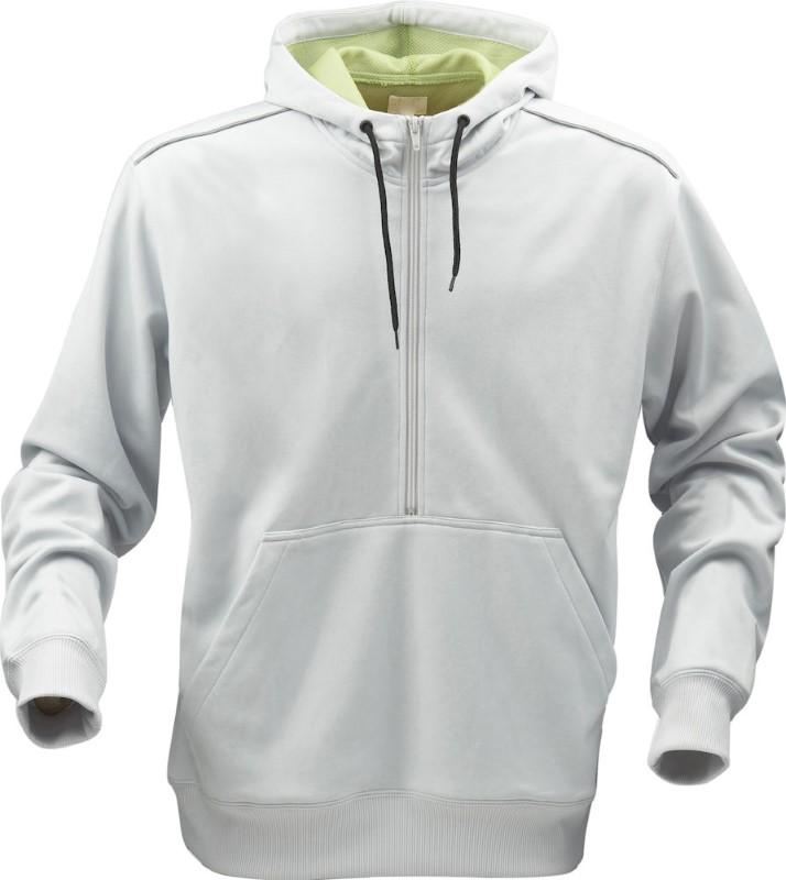 Printer Archery sweater Light grey / Lime M