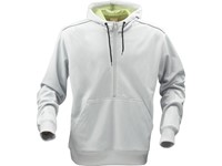 Printer Archery sweater Light grey / Lime XS