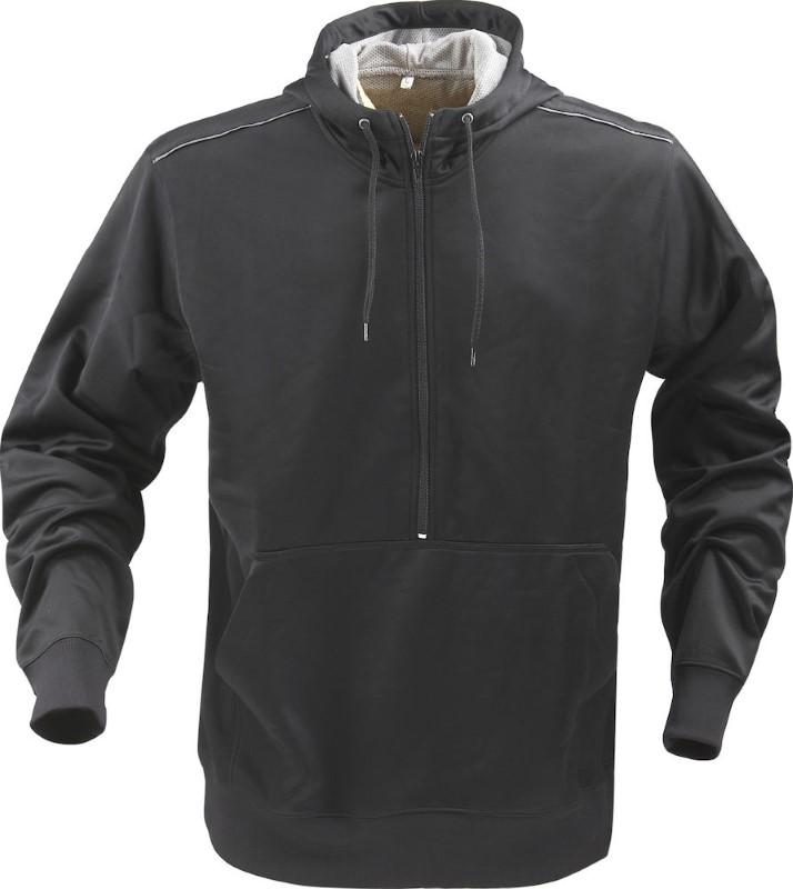 Printer Archery sweater Black / Silver L