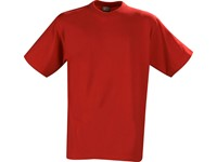 Printer Heavy T-shirt Red XXXL