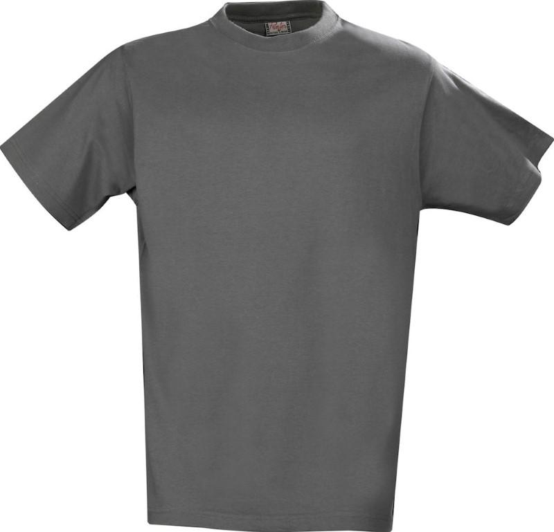 Printer Heavy T-shirt Grey 4XL
