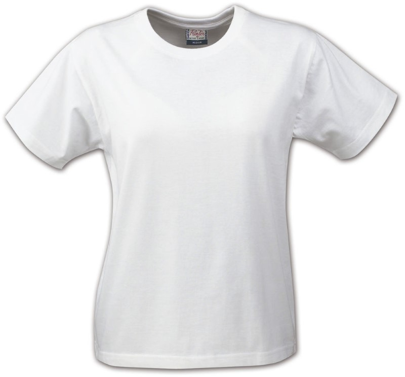 Printer Heavy t-shirt Lady White XL