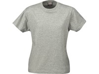 Printer Heavy t-shirt Lady Grey Mel. M
