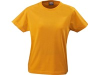 Printer Heavy t-shirt Lady Bright Orange S