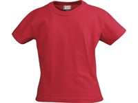 Printer Heavy t-shirt JR Red 130