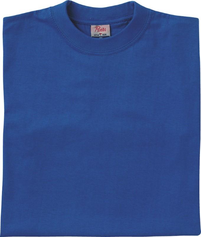 Printer Heavy t-shirt JR Blue 130
