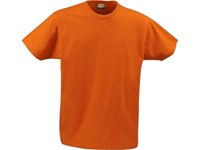 Printer heavy t-shirt RSX Bright orange L
