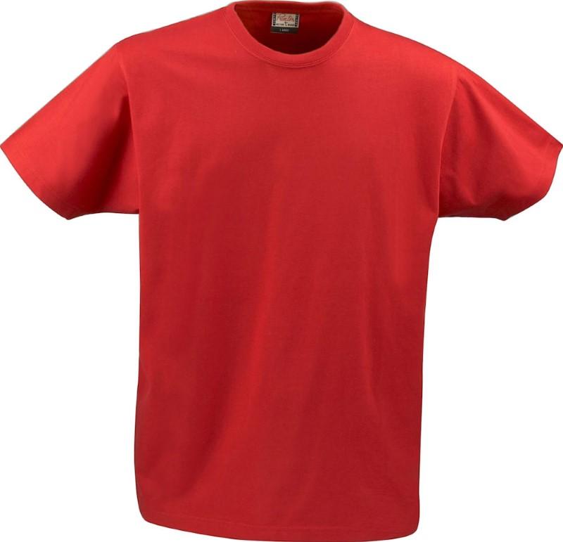 Printer heavy t-shirt RSX Red L