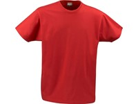 Printer heavy t-shirt RSX Red XS