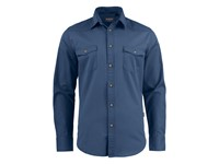 Harvest Treemore Shirt Faded blue L