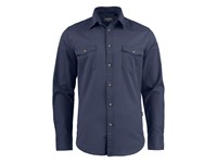 Harvest Treemore Shirt Navy 3XL