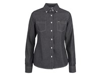 Jupiter Ladies Shirt Black denim XL