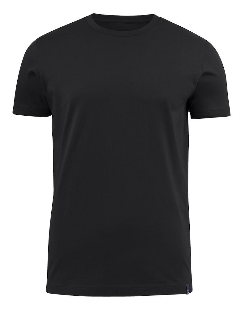 Harvest American U T-shirt Black L
