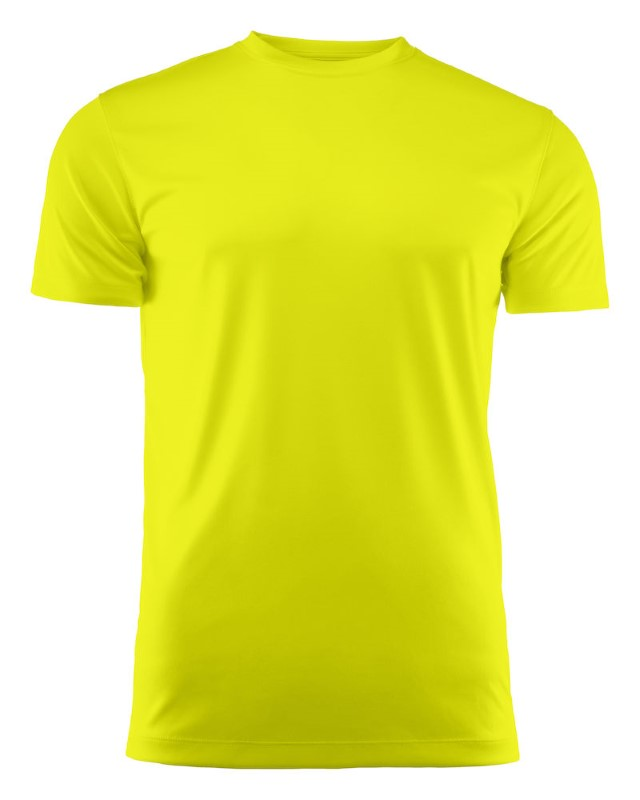 Run Active t-shirt Bright yellow L