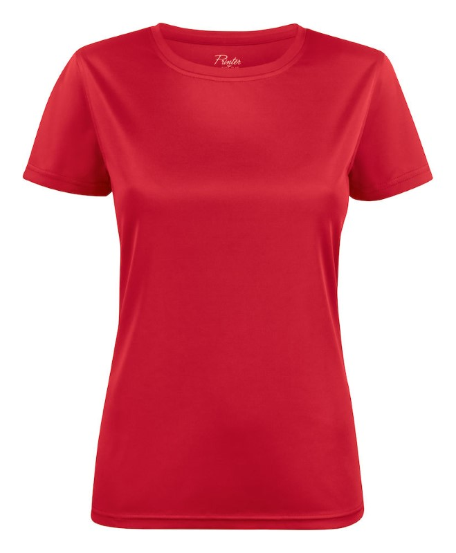 Printer Run Active Lady t-shirt Red L