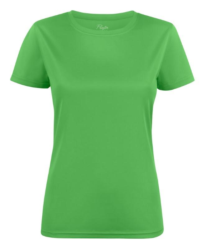 Printer Run Active Lady t-shirt Lime XXL