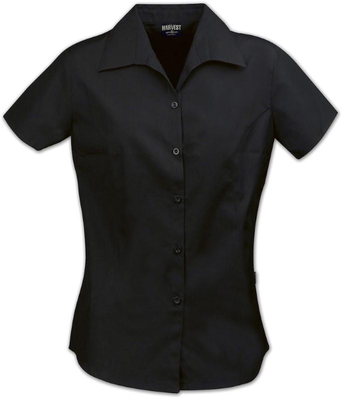 Harvest Sidney lady blouse SS Black XS