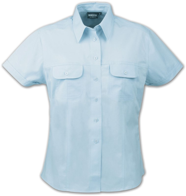Harvest Avalon S/S lady shirt Light blue S