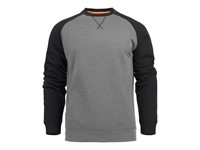 David Crewneck Grey melange/ M