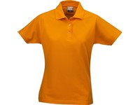 Printer Surf lady polo pique Bright Orange M