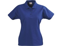 Printer Surf lady polo pique Blue XL