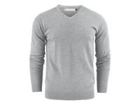 Ashland V-Neck Grey Melange 3XL