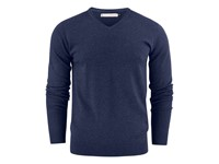 Ashland V-Neck Blue Melange M