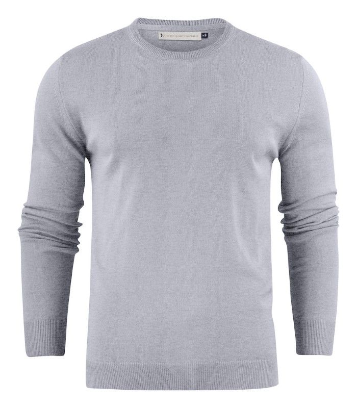 Portland Round-Neck Grey melange M