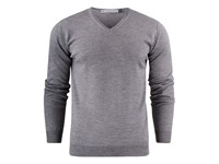 Westmore Merino Pullover Grey melange XXL